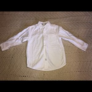 Children's place 3t white button down shirt